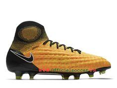 new styles 852c9 1bd45 Football Nike Magista Obra II FG 844595 801 Artificiel Chaussure de football  salle pour Homme Jaune