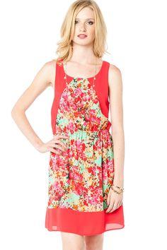 ShopSosie Style : Flower Frenzy Dress