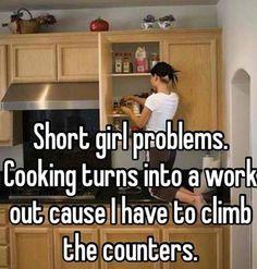 Short Girl's Kitchen Problems