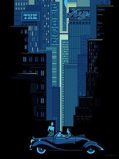 Black Keys Poster by Kevin Tong  #poster #illustrations