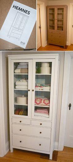 DIY - IKEA Hemnes Cabinet Makeover - Full Tutorial.