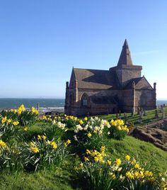 The beautiful Auld Kirk, St Monans, Fife