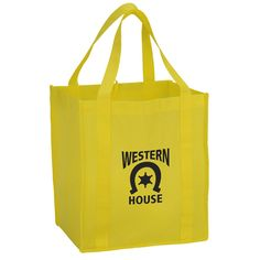 8aec5d77a8a This large shopping tote offers plenty of extra advertising space!  Advertising Space