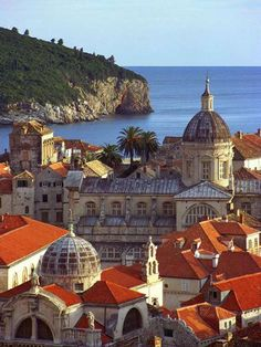 Old Town, Dubrovnik, Croatia ~ My grandfather came from Lic,Croatia in 1904. I would love to visit this beautiful country.
