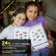 Due to the limiting circumstances of poverty, many children in Nicaragua grow up without ever completing primary school. We're changing that! Join our Dare-to-Dream program this summer and provide children with meaningful and engaging educational programs that empower them to stay in school while giving them the tools they need to succeed.