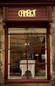 Cafe Camelot, Krakow, Poland | da kasmil