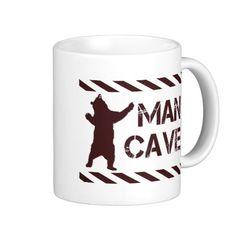 Man Cave Coffee Mug - customizable Man Cave Gear