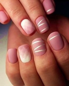 35 Fabulous Nail Art Designs With Stripes
