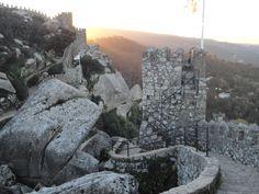 Castelo dos Mouros ao fim da tarde by Kelma Mazziero