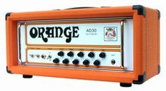 Orange amplifier guitar head