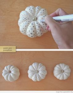 White Pumpkin Thanksgiving DIY Decor #halloween #party #shabbychic