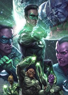 The universe's protectors unite in order to prevent Parallax from disrupting the balance of power. Green Lantern Licensing Art by Stanley Lau. Green Lantern Green Arrow, Green Lantern Hal Jordan, Green Lantern Corps, Green Lanterns, Arte Dc Comics, Dc Comics Superheroes, Dc Comics Characters, Comic Books Art, Comic Art