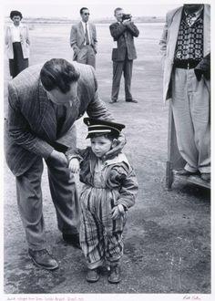 The Jewish Museum | Ruth Orkin, Jewish Refugee from Iraq, Lydda Airport, Photographs (1950)