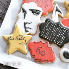 ELVIS | Cookie Connection Elvis Presley Decorated Sugar Cookies