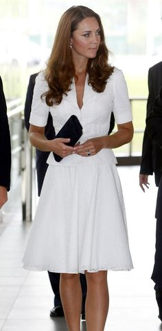 Kate Middleton's 2012 tour dresses: Pictures of all the Duchess of Cambridge's outfits and accessories