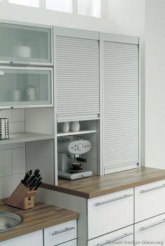 Modern White Kitchen Cabinets #07 (Alno.com, Kitchen-Design-Ideas.org)