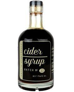 Carr's Apple Cider Syrup - Pre Reserve – Oak and Salt Quality Goods