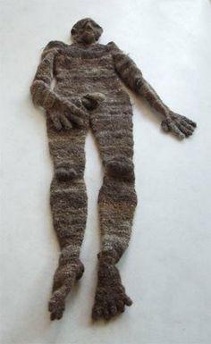 Human made out of human hair.....ummm really???