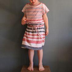 Trula Kids // striped knit dress
