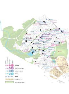 Urban Catalyst Studio - en - Hoensbroek 2025 Architecture Plan, Landscape Architecture, City Layout, Urban Design Plan, Urban Analysis, Concept Diagram, Urban Planning, Data Visualization, Design Development