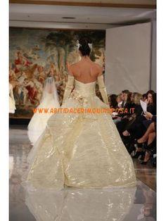 bella senza spalline in tulle fiore abito da sposa taffettà 2013