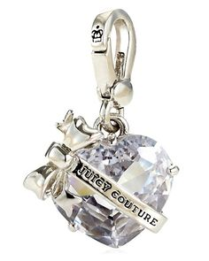 Juicy Couture Heart Banner Charm $52