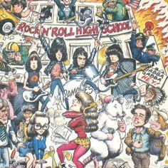 VTG 1979 RAMONES ROCK N ROLL HIGH SCHOOL PROMO T-SHIRT 70S MOVIE CULT FILM JOEY #Westwood #GraphicTee