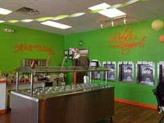 Lola's Frozen Yogurt has the best Frozen Yogurt in town! She offers a wide array of different ice cream flavors and toppings! (Most I've seen anywhere!) (Perrysburg, Ohio)