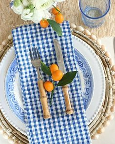 Kumquats, you either love them or hate 'em but you may have to admit they look so pretty with blue. .  .  .  #homegoods #sharemyhomegoods