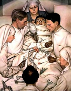 Max Beckmann, Operation, 1929