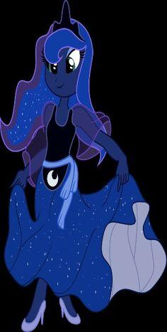 Mlp princess luna equestria girls