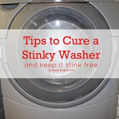 No Cost Tips To Cure a Stinky Washer For Good !