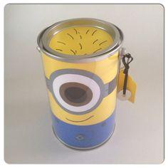 Minion Party Favor Minion Gift Bucket Minion by CreativeBuckets