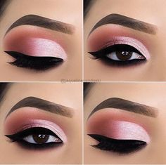 Prom Eye makeup look ideas, natural Eyeshadow makeup for brown eyes, Easy p. - Eye Makeup Bronze -pink Prom Eye makeup look ideas, natural Eyeshadow makeup for brown eyes, Easy p. Prom Eye Makeup, Makeup Eye Looks, Cute Makeup, Perfect Makeup, Simple Makeup, Casual Makeup, Cheap Makeup, Easy Makeup, Dress Makeup