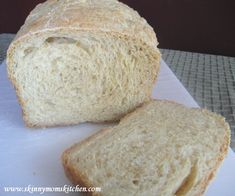 Cooking Light bread machine recipe for English Muffin Bread. This one is soooo delicious.