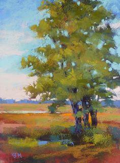 'Sentinel of the Marsh'         9x12          pastel         ©Karen Margulis