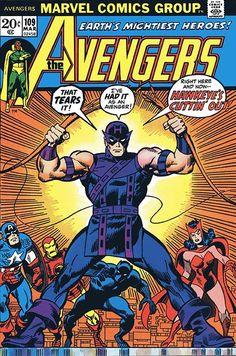 The Avengers #109