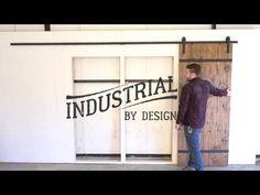 13-Foot Barn Door Hardware Kit - Industrial By Design
