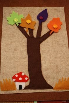 Olives and Pickles: Fall Tree Buttons Board