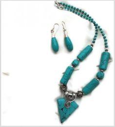 Tibetan Turquoise 3-in-1