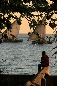 Serene view from the bay, Zanzibar, Tanzania