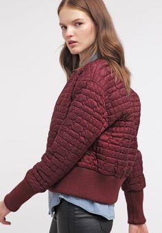 Glamorous Summer jacket - burgundy - Zalando.co.uk