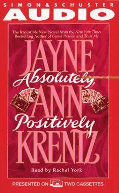 Absolutely Positively Cassette by Jayne Ann Krentz http://www.amazon.com/dp/0671886533/ref=cm_sw_r_pi_dp_XmZQtb1D6MGFJWXS