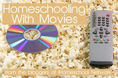 The bloggers of #ihsnet share tips for homeschooling with movies.