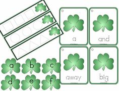 St Patrick's Day Learning Centers  Digital by Crayonbox Learning