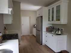 Home - Simply Cabinet Doors Shaker Style, White Satin, Beautiful Kitchens, Cabinet Doors, 3d Design, Absolutely Stunning, Kitchen Design, Home Improvement, Kitchen Cabinets