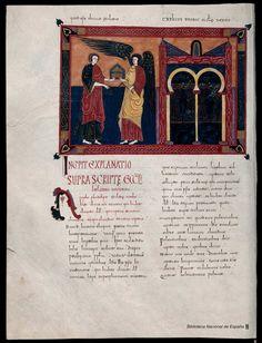 Beato de Liébana. Beato de Liébana , Santo — Manuscrito — 1047 201
