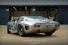 Jamie & Ewan McIntyre's Naked 1964 Iso Grifo A3C No.241 - 2014 Silverstone Classic