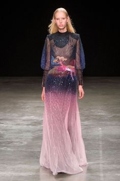 miss-mandy-m:    Jessie Bloemendaal for Mary Katrantzou FW17