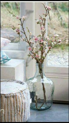 New Ideas Flowers Vase Decoration Bloemen Vases Decor, Centerpieces, Vibeke Design, Big Vases, Large Vases, Deco Nature, Deco Originale, Deco Floral, Ikebana